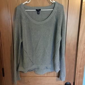 Gap Grey knit sweater XXL